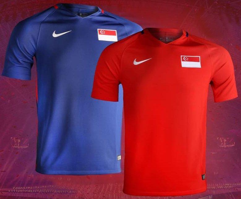 Nike divulga as novas camisas de Singapura - Show de Camisas 69aa9adee6e40