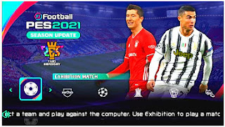 Download PES 2021 PPSSPP Android Camera PS5 Chelito V1.0 Best Graphics & Latest Transfer