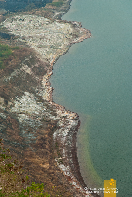 Taal Volcano Hike Crater