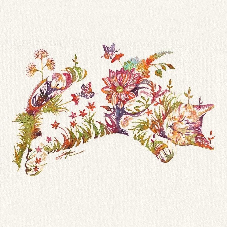 04-Sleeping-in-flowers-Hiroki-Takeda-タケダヒロキ-www-designstack-co