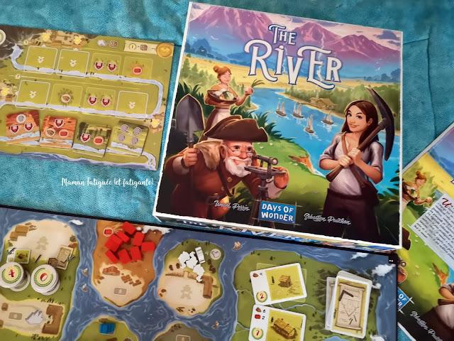 the river jeu de societe