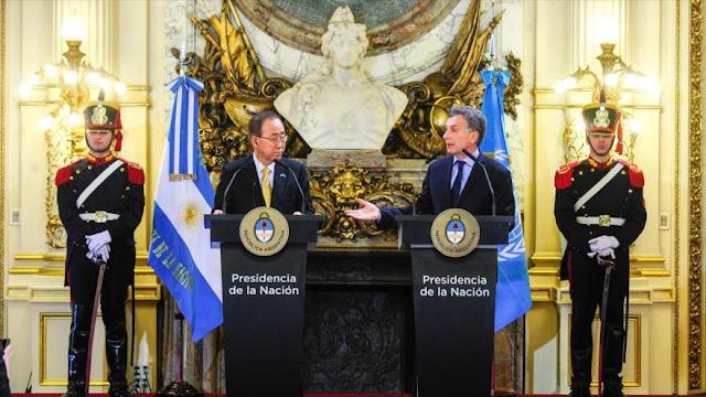 """Macri confirma a ONU """"su vocación de recibir refugiados de Siria"""""""