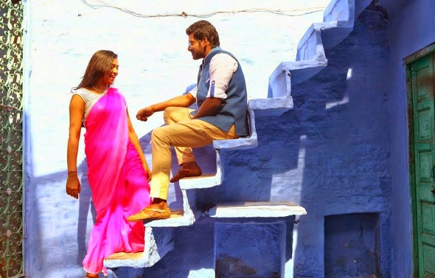 Vishal and Lakshmi Menon in Naan Sigappu Manithan Photos ... Naan Sigappu Manithan Lakshmi Menon Hot Stills