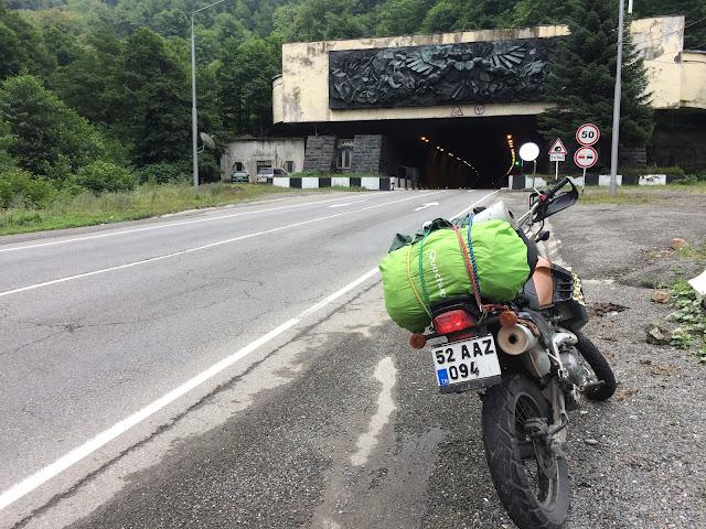 Motosiklet ile Gürcistan