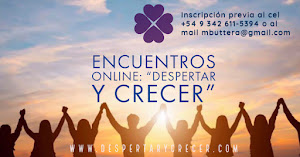 "Talleres online: ""Despertar y Crecer"""