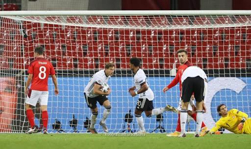 مشاهدة ملخص مباراة ألمانيا 3-3 سويسرا بتاريخ 2020-10-14 دوري الأمم الأوروبية