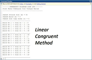 contoh tampilan implementasi LCM