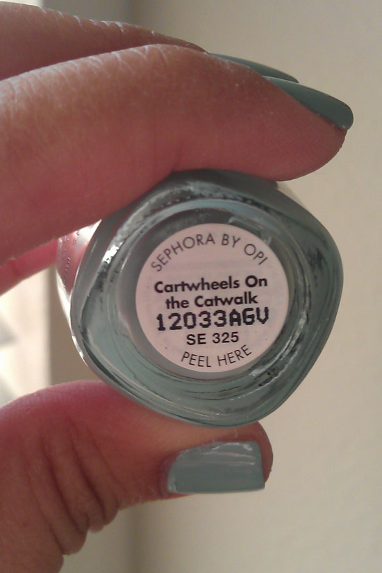 True Cuento Sephora By Opi Cartwheels On The Catwalk
