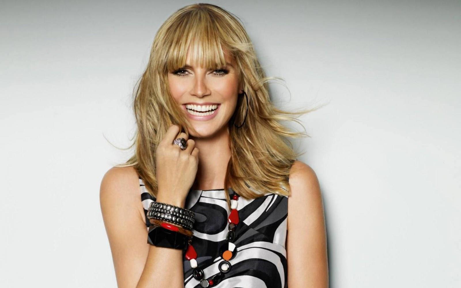 Celebrity Celebritys Heidi Klum Lovely New Hd Wallpapers