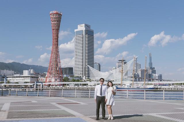 神戶港婚紗