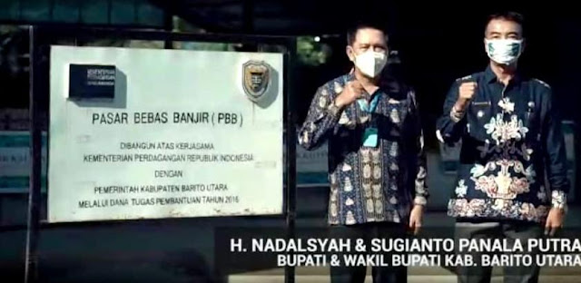 Pasar Bebas Banjir Muara Teweh Juara Terbaik Dua se- Indonesia
