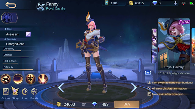 Bocoran Update Shop Skin Rare Fragment Tahun 2020 Mobile Legends