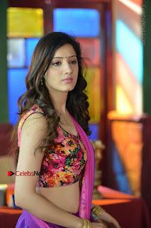 Actress Richa Panai Stills in Half Saree at Rakshaka Bhatudu Sets  0012.JPG
