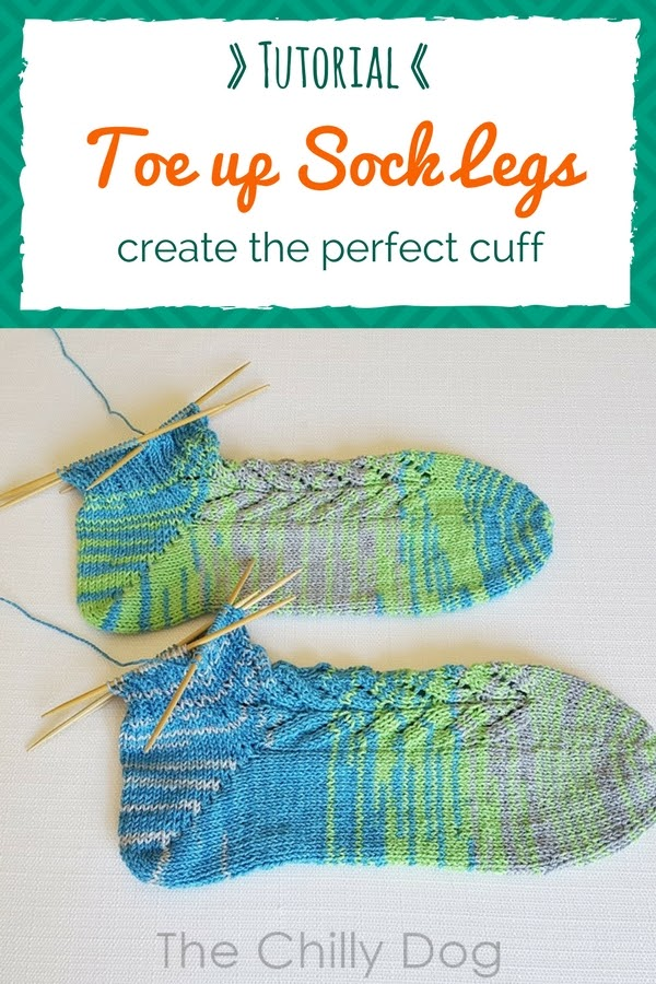 Whale Done Socks KAL Tutorial: Knitting the perfect cuff for toe up socks