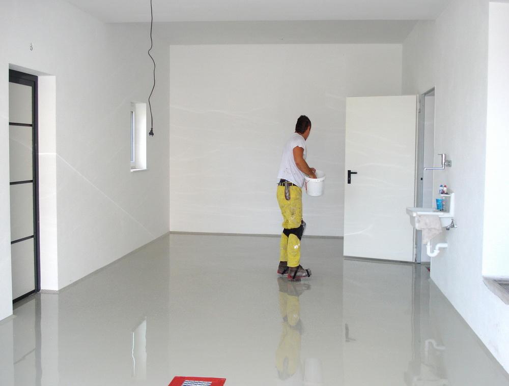 Epoxidharz Garage Stunning K Bodenfarbe Epoxidharz Betonfarbe
