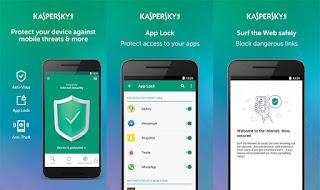 Aplikasi Antivirus Karspersky untuk Android