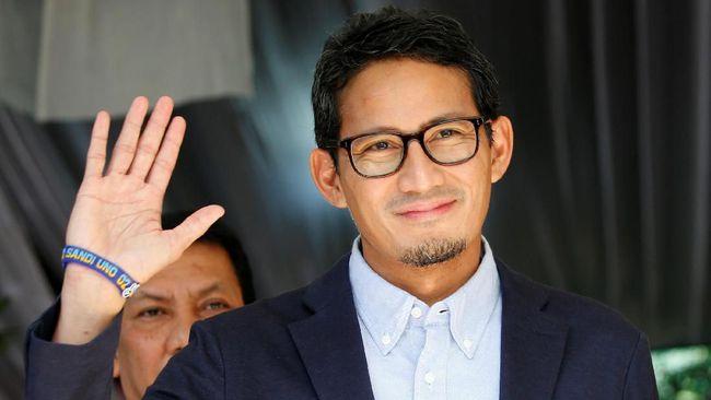 Ditawari Jadi Menteri, Sandiaga: Koalisi Jokowi Sudah Cukup