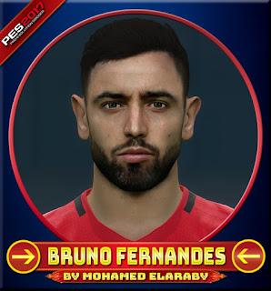 PES 2017 Faces Bruno Fernandes by M.Elaraby Facemaker