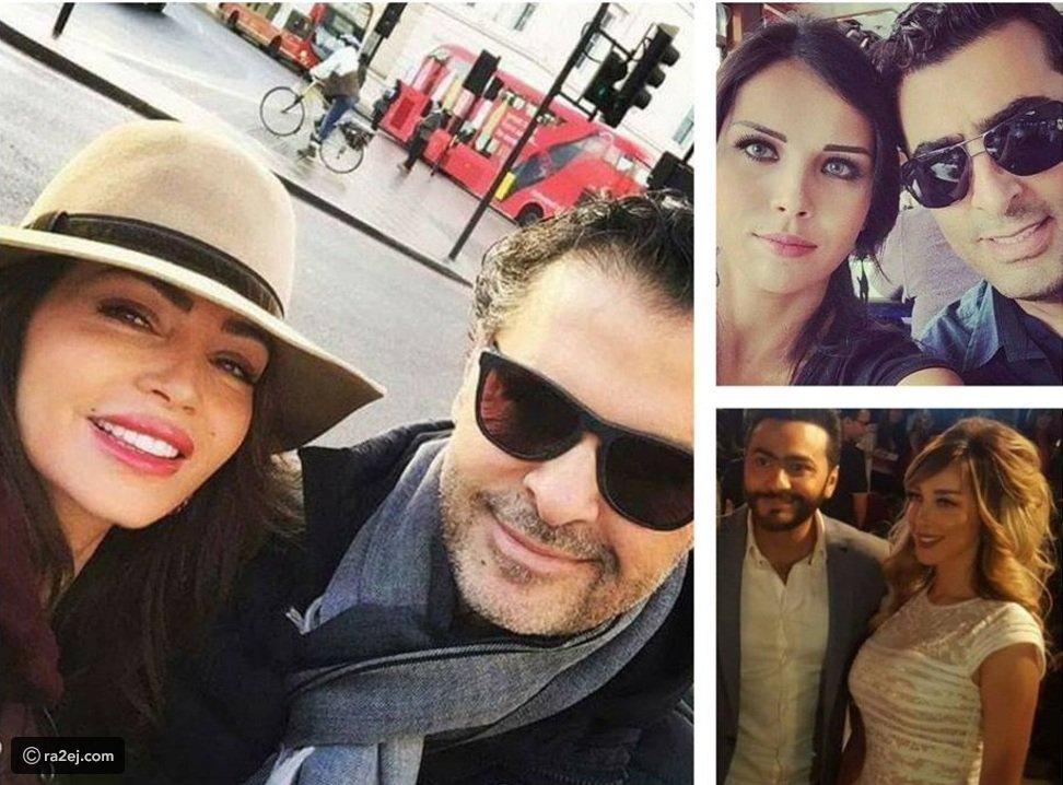 صور نجوم عرب تزوجوا من نساء جميلات لدرجة يمكن تشبيههن بالدمى..زوجة باسم مغنية آية من الجمال!
