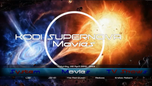 Best Kodi Build April 2020.Supernova Build Kodi 18 Racoon City Wizard New Best For