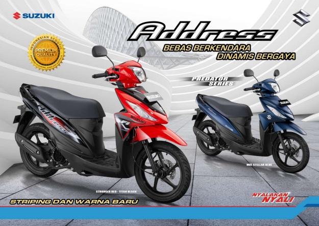 Spesifikasi dan Review Suzuki Address: Generasi Motor Matic Terbaru dari Suzuki