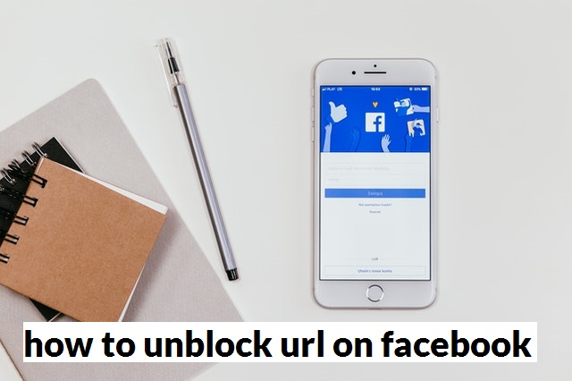how to unblock website url on facebook