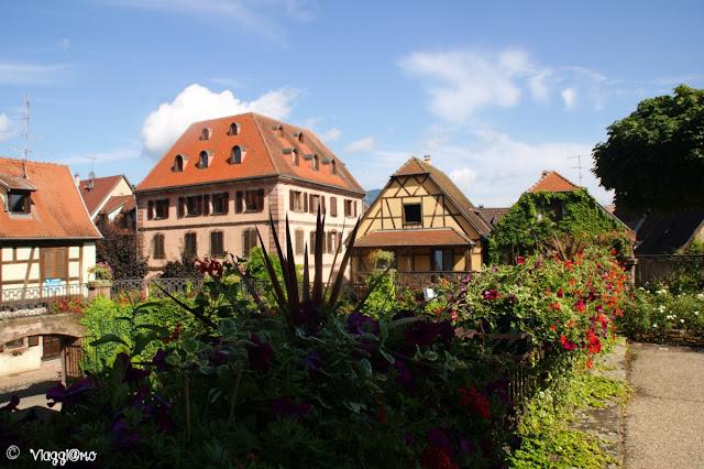 Scorcio della bella cittadina di Bergheim