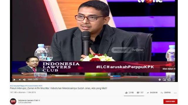 Zainal Arifin Mochtar Blak-blakan Mengapa Pilih Jokowi pada Pilpres: Untuk Syahadat Anti Korupsi