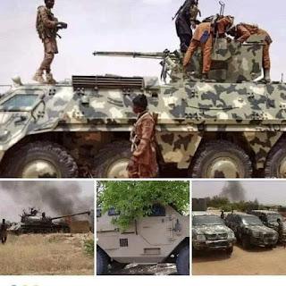 Photo mews: See what Bokoharam captured from Soldiesrs