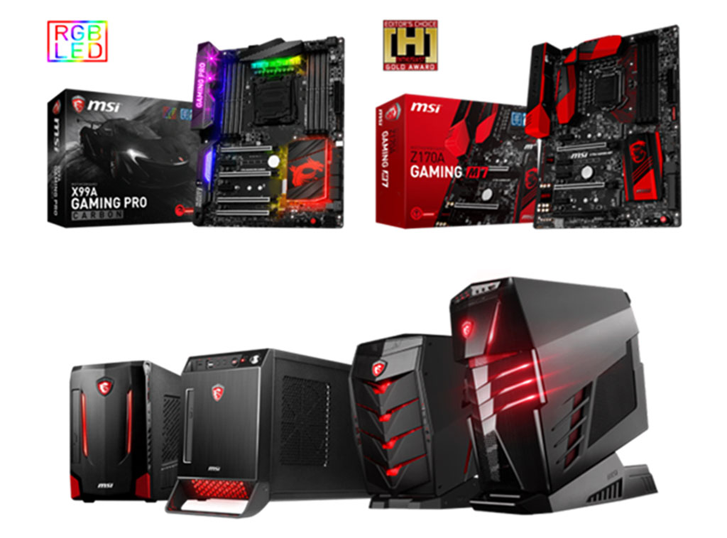 Get a free Mafia III on selected MSI Gaming Motherboards and Desktops
