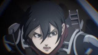 進撃の巨人 4期 アニメ   ミカサアッカーマン 19歳   Attack on Titan The Final Season   Mikasa Ackerman