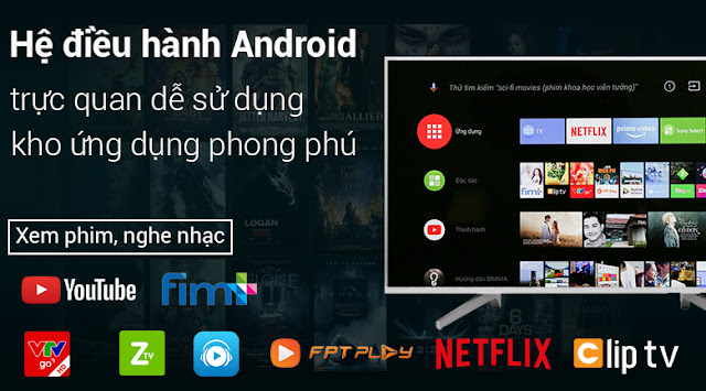Android Tivi Sony 43 inch KD-43X8500F