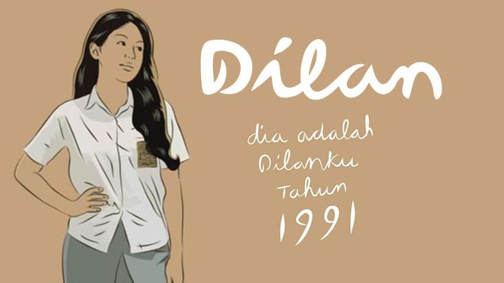 Baca Novel : Dia adalah Dilanku tahun 1991 - Pidi Baiq