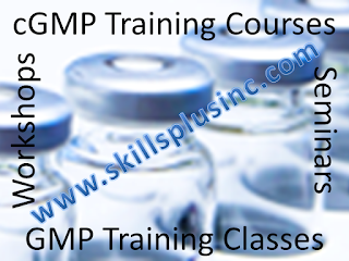 FDA cGMP QSR GMP Online Training Courses by SkillsPlus International Inc.