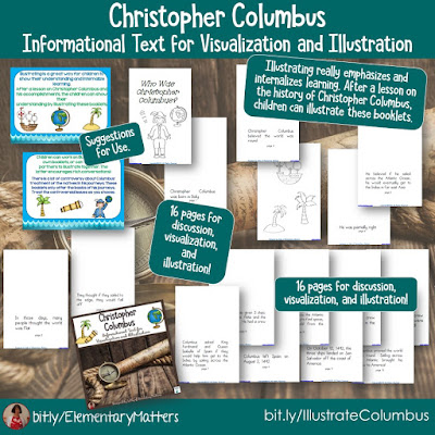 https://www.teacherspayteachers.com/Product/Christopher-Columbus-Informational-Text-for-Visualization-and-Illustration-159469?utm_source=october%20resources%20post&utm_campaign=Columbus%20book%20for%20illustrating