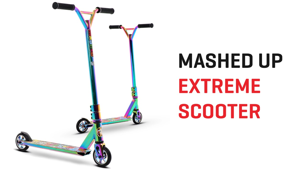 Mashed Up Rainbow Scooter
