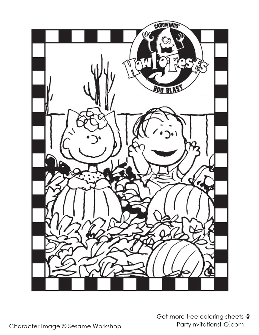 Shine Kids Crafts Printable Halloween Coloring Pages for