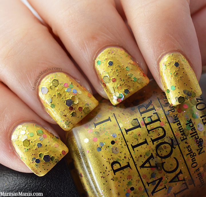 OPI Hawaii Pineapples Have Peelings Too, yellow nail polish