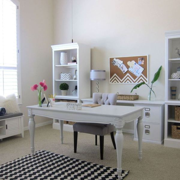 shabby chic home office decorating ideas chic home office