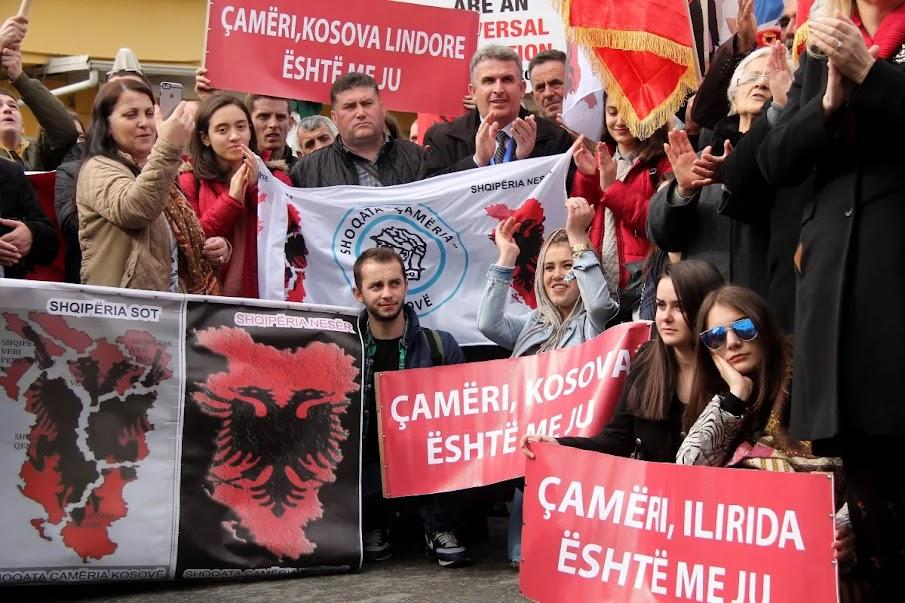 Η αισχρή προπαγάνδα των Αλβανών για τους Τσάμηδες