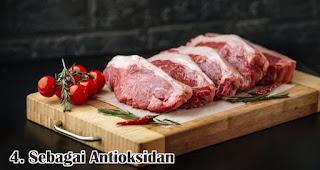 Sebagai Antioksidan merupakan salah satu manfaat konsumsi daging kurban