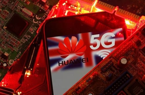 Newspaper: Britain is moving to cut Huawei's participation in 5G networks