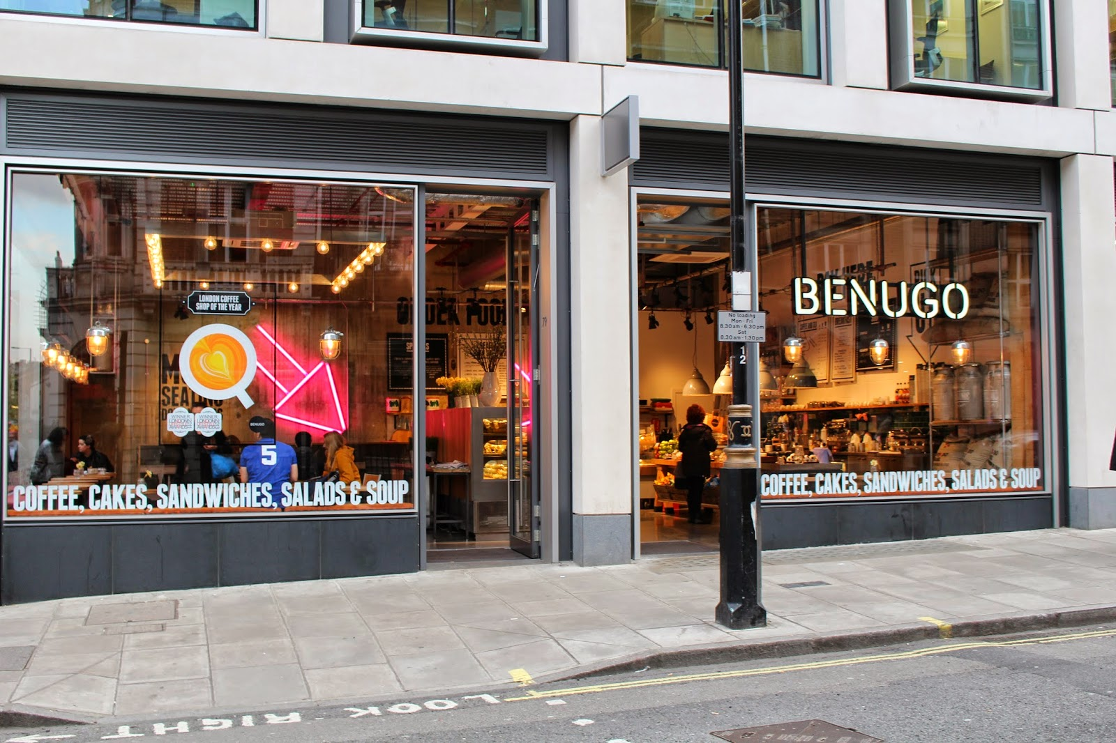 London free wifi study spots Benugo
