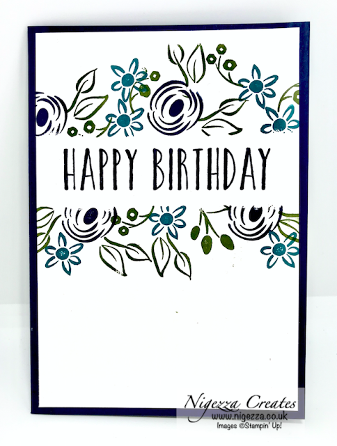 Perennial birthday Stampin' Up!