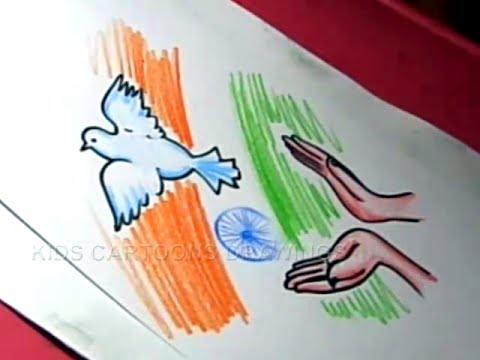 Drawing On Republic Day For Class 3