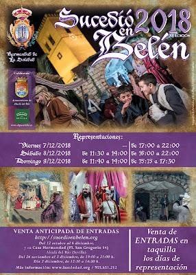 Alcalá del Río - Belén Viviente 2018 - Programa
