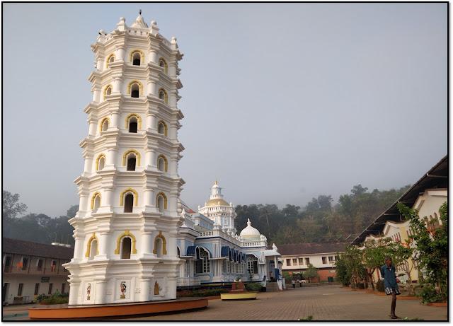 Goa, mangeshi temple