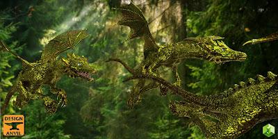 DA Dragonling HD for Daz Dragon 3