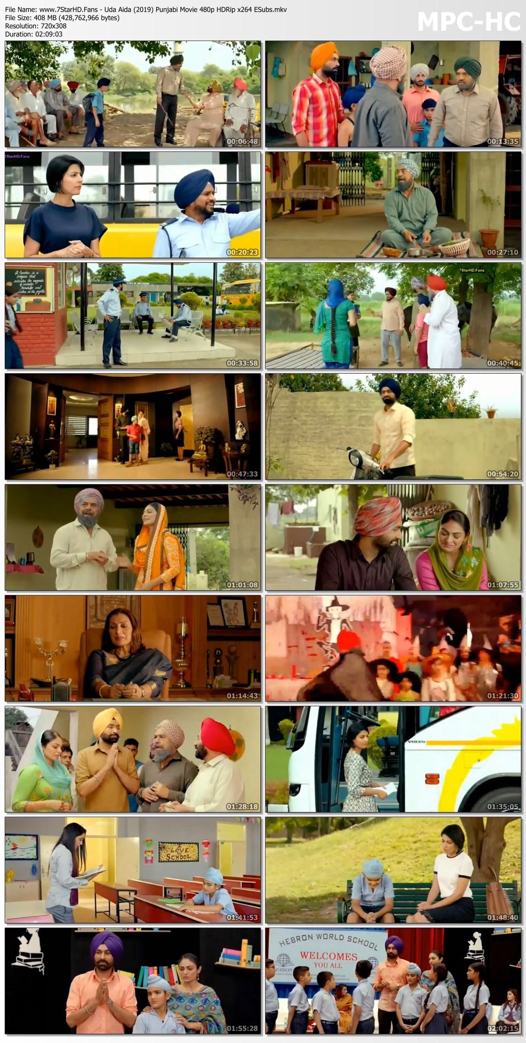 Uda Aida 2019 Punjabi Movie 400mb Hdrip 480p Esubs Free Download