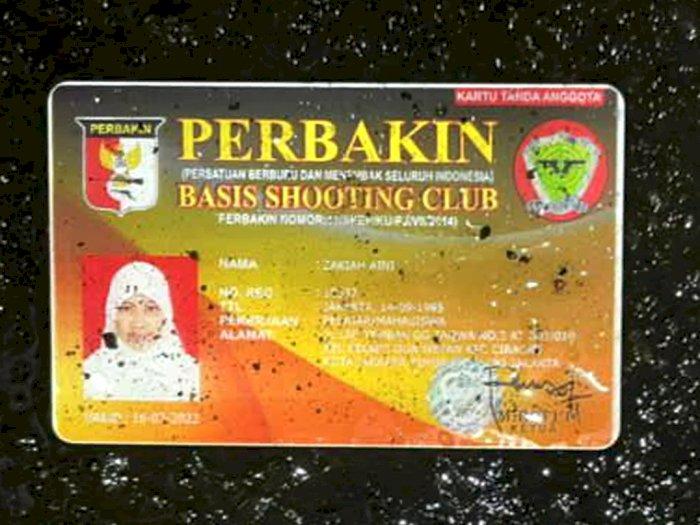 Punya Kartu Anggota Perbakin, Wanita Penyerang Mabes Polri Diduga Sempat Latihan Menembak